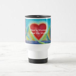 heal a woman mug