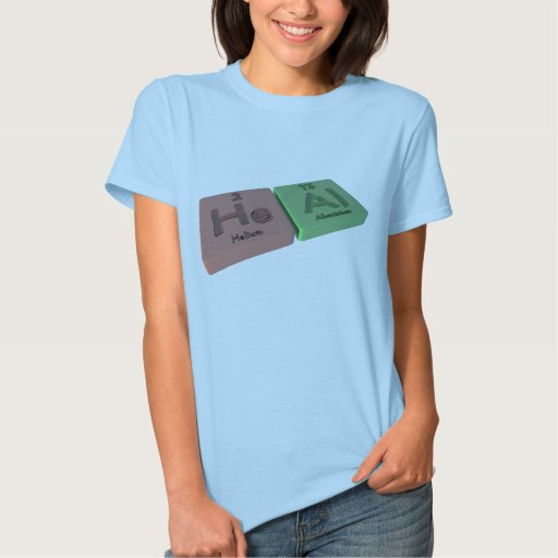 Heal as He Helium and Al Aluminium Shirts
