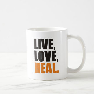 heal coffee mug