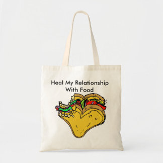 Heal My Relationship With Food Grocery Bag