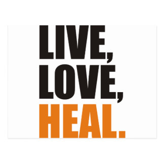 heal postcard