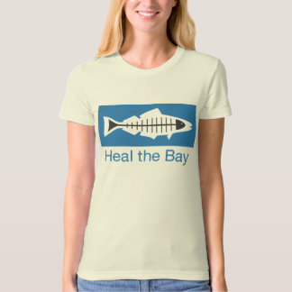 Heal the Bay Basic Logo Fitted T-shirt (Women's)
