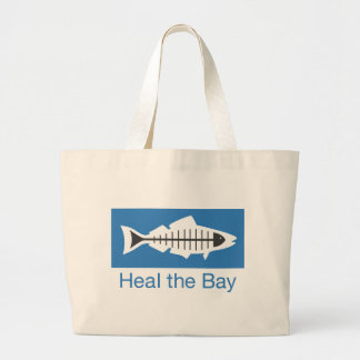 Heal the Bay Swag Large Tote Bag