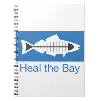 Heal the Bay Swag Spiral Note Books
