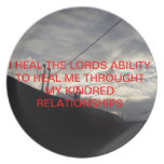 HEAL THE LORD-PLATE