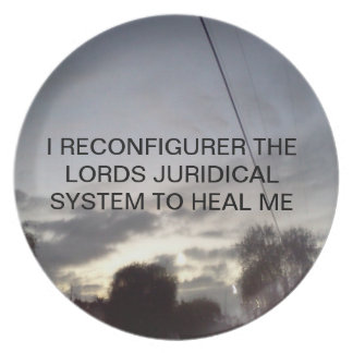 HEAL THE LORD-PLATES MELAMINE PLATE