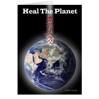 Heal The Planet Card