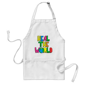 Heal the World Adult Apron