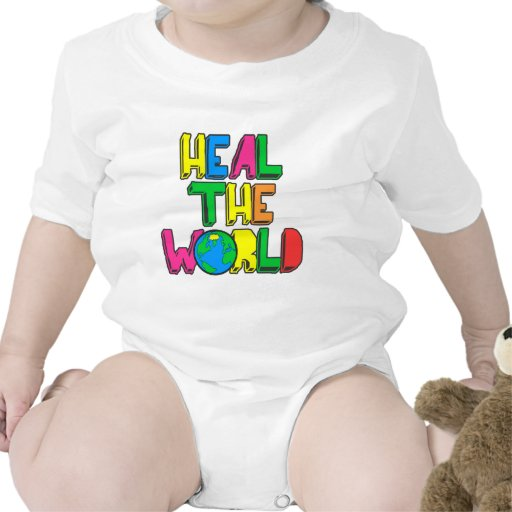 Heal the World Baby Bodysuits