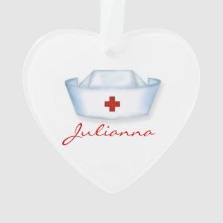 Heal the World for Nurses Custom Ornament
