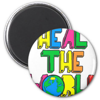 Heal the World Magnet