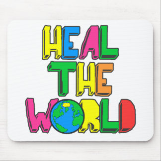 Heal the World Mouse Pads