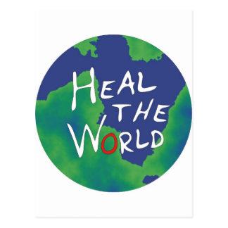 Heal the World Postcard