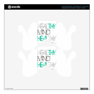 Heal Thy Mind Heal Thy Body PS3 Controller Decals