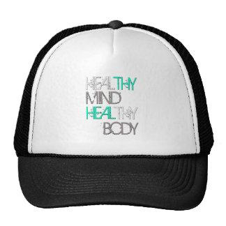 Heal Thy Mind Heal Thy Body Trucker Hat