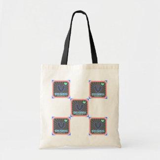 Heal Vitiligo Square Ray Bag