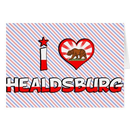 Healdsburg, CA Greeting Card