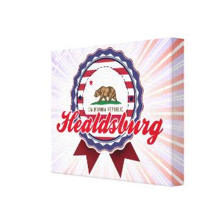 Healdsburg, CA Impresiones En Lienzo Estiradas