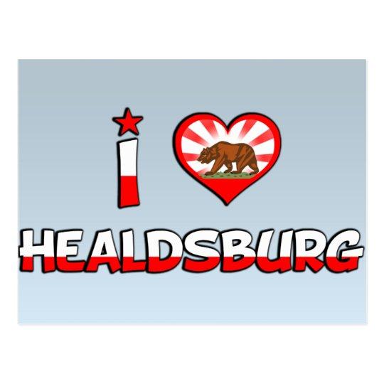 Healdsburg, CA Postcard