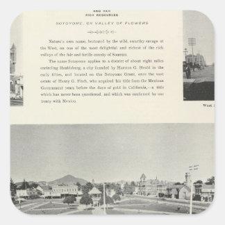 Healdsburg, California Square Sticker