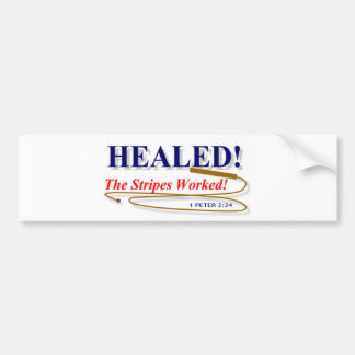 Healed Bumper Sticker