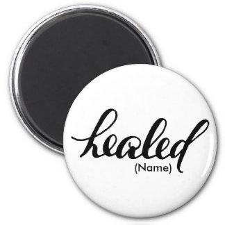 Healed Custom 2 Inch Round Magnet