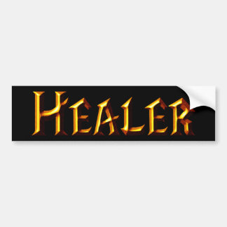 Healer Car Bumper Sticker