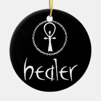 Healer Ceramic Ornament