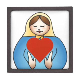 Healer Mama with a Heart Jewelry Box