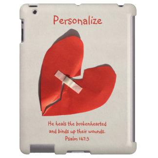 Healer of Broken Hearts Psalm 147:3 Scripture Art