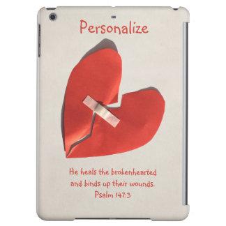 Healer of Broken Hearts Psalm 147:3 Scripture Art iPad Air Case