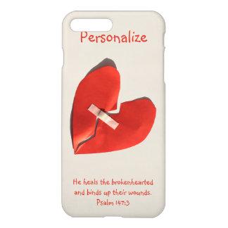 Healer of Broken Hearts Psalm 147:3 Scripture Art iPhone 8 Plus/7 Plus Case