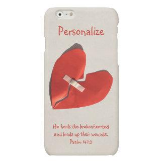 Healer of Broken Hearts Psalm 147:3 Scripture Art Matte iPhone 6 Case