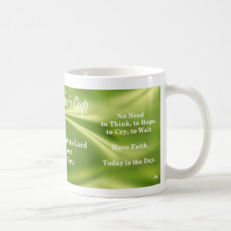 Healer's Cup Classic White Coffee Mug