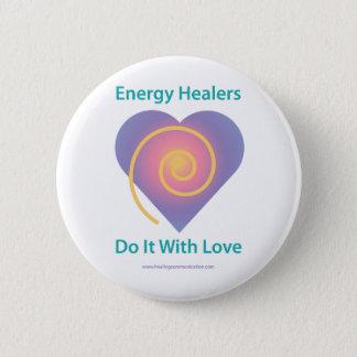 Healers Do It Pinback Button
