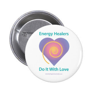 Healers Do It Pinback Button
