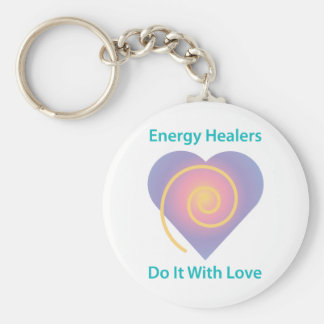 Healers Do It With Love Keychain