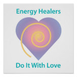 Healers Do It With Love Poster