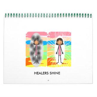"""HEALERS SHINE"" Calendar"