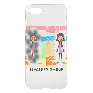HEALERS SHINE iPhone 7 Clearly™ Deflector Case