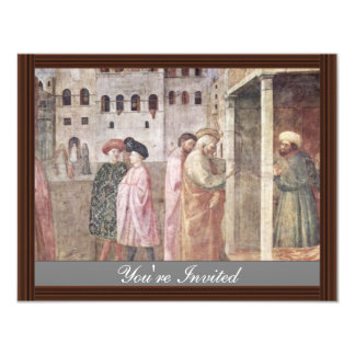 Healing A Lame Man By Peter And John, And Resurre 4.25x5.5 Paper Invitation Card