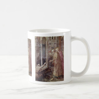 Healing A Lame Man By Peter And John By Masolino ( Coffee Mug