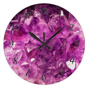 Gem Wall Clocks Zazzle