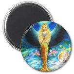 Healing Angel 2 Inch Round Magnet