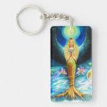 Healing Angel Acrylic Keychain