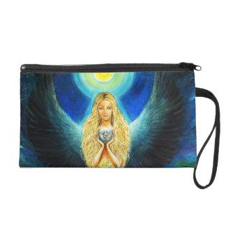 Healing Angel Wristlet Purse
