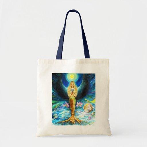 Healing Angel Budget Tote Bag