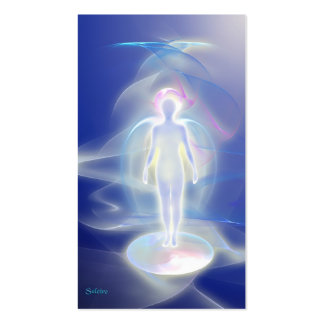 Healing Angel Double-Sided Standard Business Cards (Pack Of 100)