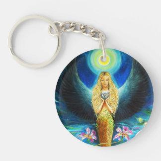 Healing Angel Keychain