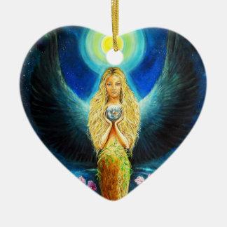 Healing Angel Christmas Tree Ornaments